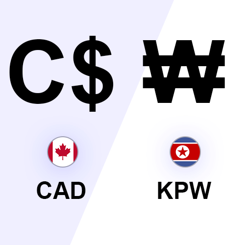 dollar canadien won nord-coréen